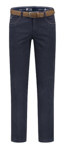 Com4 Swing Front Cotton Broek Navy