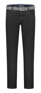 Com4 Swing Front Denim Jeans Black