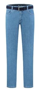 Com4 Swing Front Denim Jeans Licht Blauw