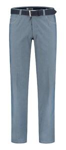Com4 Swing Front Fine Summer Pants Blue