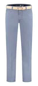 Com4 Swing Front Light Cotton Broek Blauw