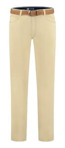 Com4 Swing Front Light Summer Pants Yellow