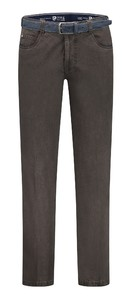 Com4 Swing Front Winter Cotton Broek Donker Grijs