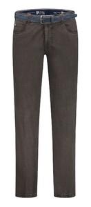 Com4 Swing Front Winter Cotton Pants Dark Gray