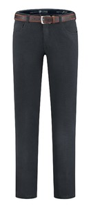 Com4 Swing Front Winter Cotton Pants Navy