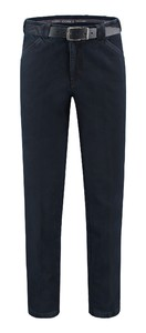 Com4 Wing-Front Denim Jeans Jeans Donker Blauw