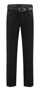 Com4 Wing-Front Denim Jeans Jeans Zwart