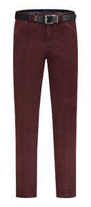 Com4 Wing-Front Winter Cotton Broek Bordeaux Melange