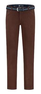 Com4 Wing-Front Winter Cotton Pants Bordeaux