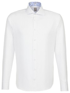 Jacques Britt Striped Smart Casual Grijs