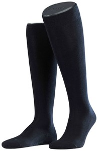Falke Sensitive London Kniekousen Navy