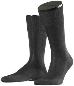 Falke No. 9 Socks Egyptian Karnak Cotton Antraciet Melange
