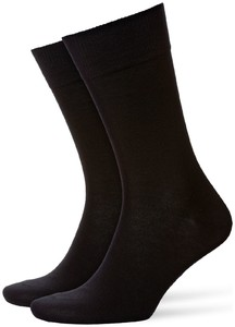 Burlington Lord Socks Zwart