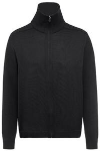 Maerz Zipper Vest Zwart