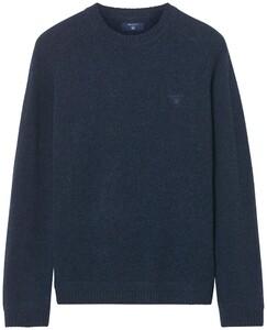 Gant Shetland Pullover Dark Navy Melange