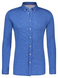 Desoto Classic Button Down Oxford Overhemd Indigo