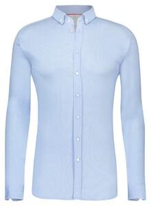 Desoto Classic Button Down Oxford Overhemd Licht Blauw