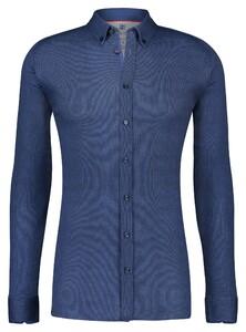 Desoto Classic Button Down Oxford Overhemd Marine