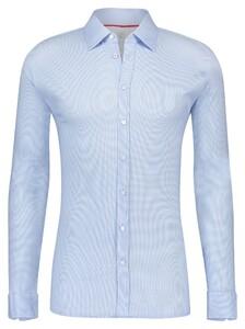 Desoto Classic Kent Dobby Overhemd Licht Blauw