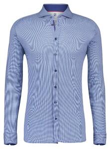 Desoto Dobby Faux Uni Shirt Navy