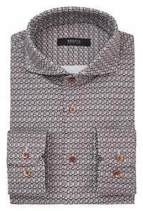 Desoto Luxury Caleidoscope Shirt Rust