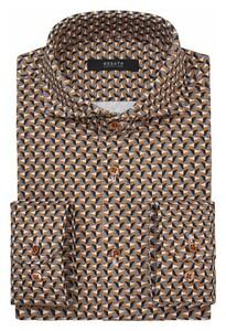 Desoto Luxury Fantasy Gears Shirt Rust
