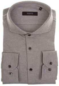 Desoto Luxury Fine Luxury Jersey Overhemd Grijs
