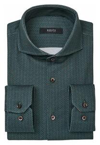 Desoto Luxury Minimal Pattern Shirt Green