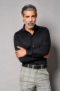 Desoto Luxury Subtle Dot Pattern Shirt Black