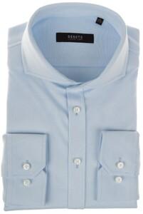 Desoto Luxury Uni Luxury Jersey Overhemd Licht Blauw