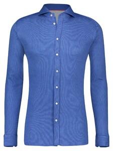 Desoto Oxford Uni Overhemd Indigo