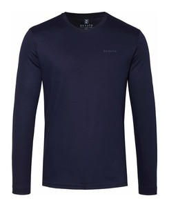 Desoto Roundneck Uni T-Shirt Dark Evening Blue