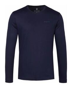 Desoto Roundneck Uni T-Shirt Donker Blauw