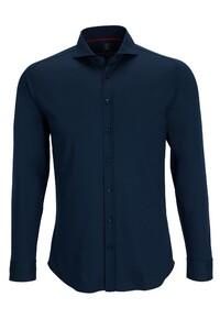 Desoto Uni Cotton Overhemd Dark Navy