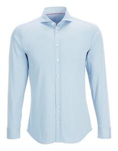 Desoto Uni Cotton Overhemd Licht Blauw