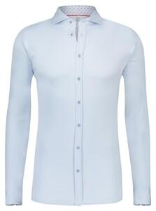 Desoto Uni Shark Collar Overhemd Licht Blauw