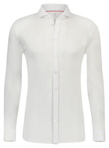 Desoto Uni Shark Collar Overhemd Wit