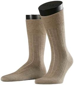 Falke No. 2 Socks Finest Cashmere Extra Dark Sand Melange