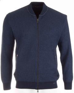 Paul & Shark Luxury Knit Blouson Blauw