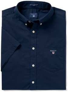 Gant The Broadcloth Short Sleeve Navy