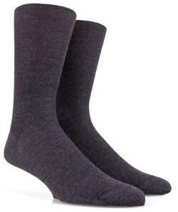 Doré Doré Merino Wollen Sok Socks Anthracite Grey