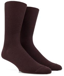 Doré Doré Merino Wollen Sok Socks Dark Brown Melange
