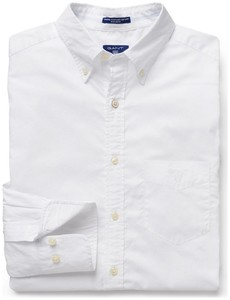 Gant Washed Pinpoint Oxford Wit