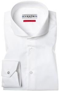 Ledûb Dress-Shirt Non-Iron Wit