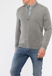 Maerz Merinowollen Vest Mercury Grey