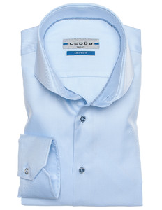 Ledûb Tailored Fit Two-Ply Licht Blauw