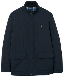 Gant The Quilted City Jacket Navy