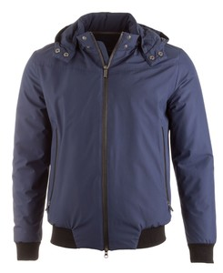 EDUARD DRESSLER Andrew Thermore Wind Stopper Jacket Jack Midden Blauw