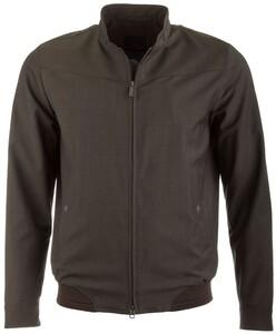 EDUARD DRESSLER Anthony Wool Water Repellent Jacket Jack Dark Green