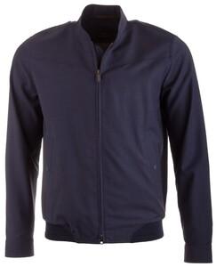 EDUARD DRESSLER Anthony Wool Water Repellent Jacket Jack Rafblue